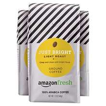AmazonFresh Just Bright Arabica Coffee (Light Roast)