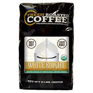 Organic White Knight Light Roast Coffee