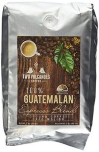Two Volcanoes Ground Coffee