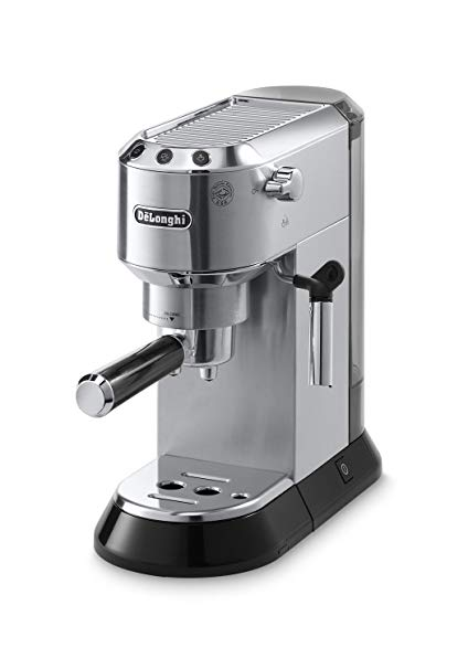 Delonghi EC680M DEDICA 15-Bar Pump Espresso Machine,
